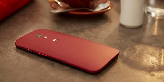 Moto X Rojo