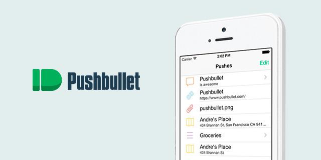 Pushbullet en iOS
