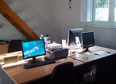 Eventioz primer oficina