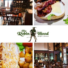 Pub Breakfast in Bangkok, The Robinhood Pub on Sukhumvit Road