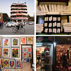 Guide to Shopping in Hanoi – the Nha Tho Area in the Hoan Kiem Lake District