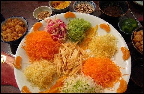 yusheng chinese new year salad singapore