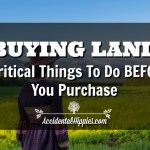 Buying Land: 5 Critical Things To Do Before You Purchase