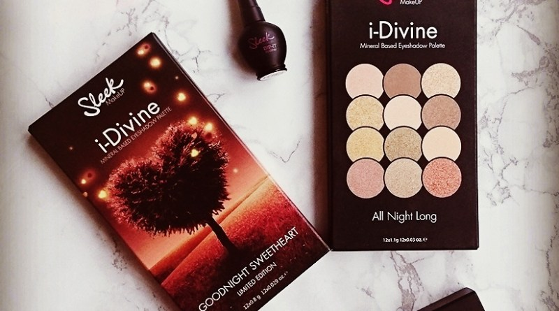 Goodnight Sweetheart Limited Edition i-Divine Palette by Sleek: A Review