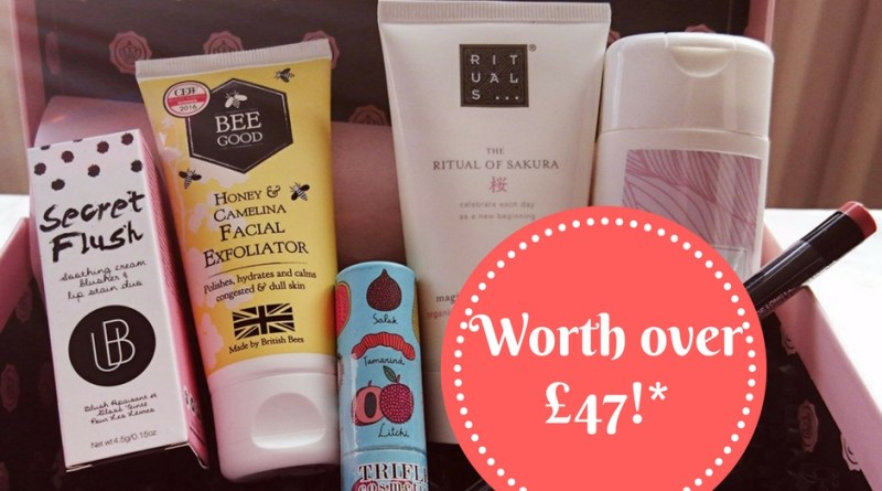 October Glossybox Unboxing + 15% Discount for my Readers
