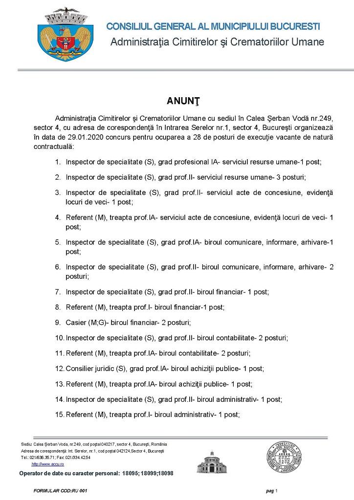 Pagina1 anunt concurs 06.01.2020