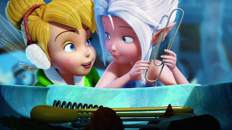 Tinker Bell and Periwinkle are sisters in Disney's Secret of the Wings