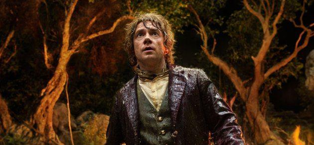 Martin Freeman as young Bilbo Baggins