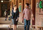 Tina Fey as Portia and Paul Rudd as John