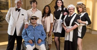 Dennis Farina, Dominic Marsh, Nikki M. James, Pamela Shaw, Jason Alexander, Kate Shindle in Lucky Stiff