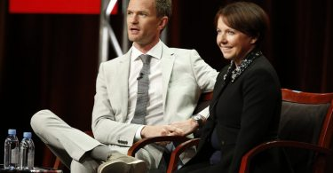 "NBCUNIVERSAL EVENTS --  NBCUniversal Press Tour, August 2015 -- NBC's ""Best Time Ever With Neil Patrick Harris""  Session -- Pictured: (l-r) Neil Patrick Harris, Executive Producer & Star; Siobhan Greene, Executive Producer -- (Photo by: Ben Cohen/NBCUniversal)"