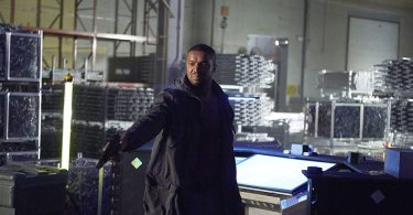 """DARK MATTER -- """"Episode Six"""" Episode 106 -- Pictured: Roger Cross as Six -- (Photo by: Russ Martin/Prodigy Pictures/Syfy)"""