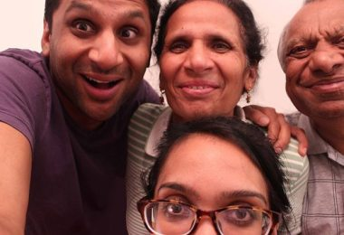 The Patels; Ravi, Momma, Dad and Geeta