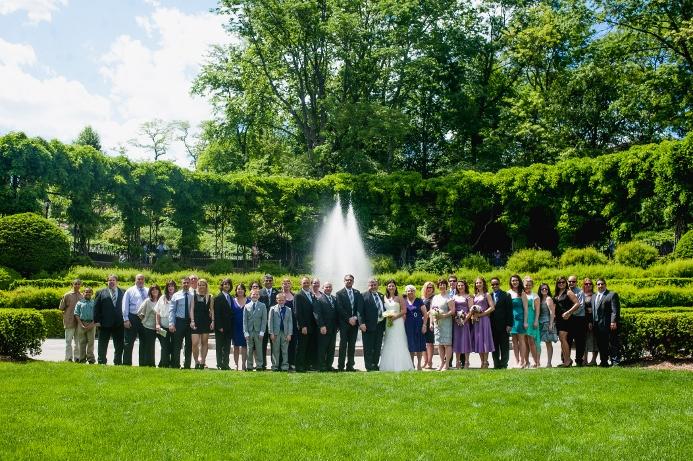 Spring Wedding At Wisteria Pergola Conservatory Garden