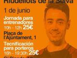 JORNADA DE L'ESCOLA DE PORTERS PACO SEDANO A RIUDELLOTS