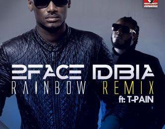 2face Idibia ft. T-Pain - RAINBOW [International Remix] Artwork   AceWorldTeam.com