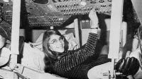 Hamilton during her time as lead Apollo flight software designer.