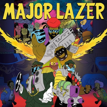Major Lazer (feat. Peaches & Timberlee)- Scare Me