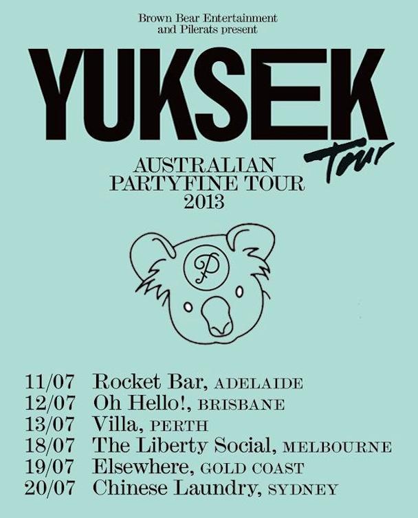 Yuksek Partyfine Tour