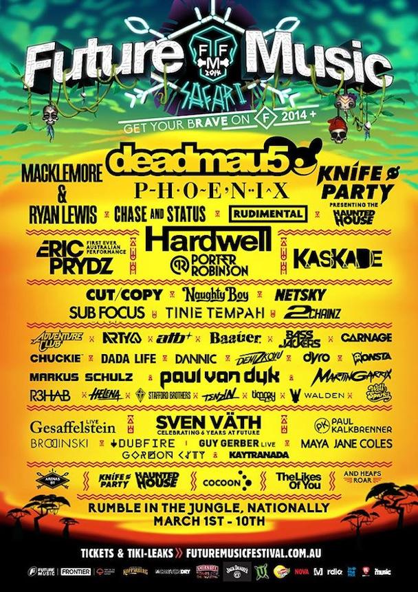 Future Music Festival 2014