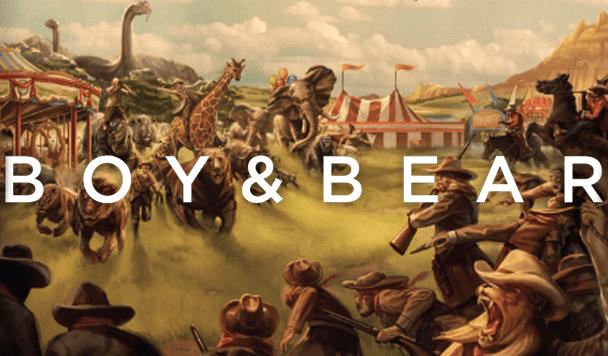 Boy & Bear - Get Up & Dance Tour - acid stag