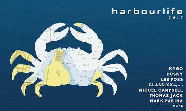 Harbourlife 2014 - poster - acid stag