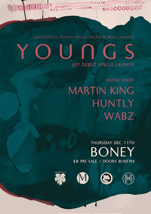 Youngs - JOY - Single Launch - acid stag
