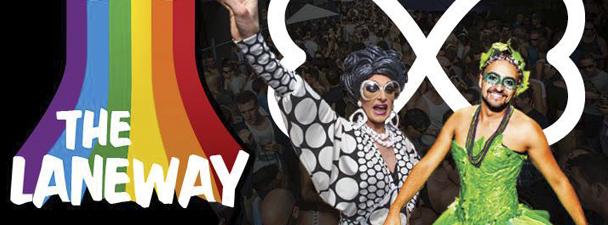 Laneway - Sydney Mardi Gras - acid stag