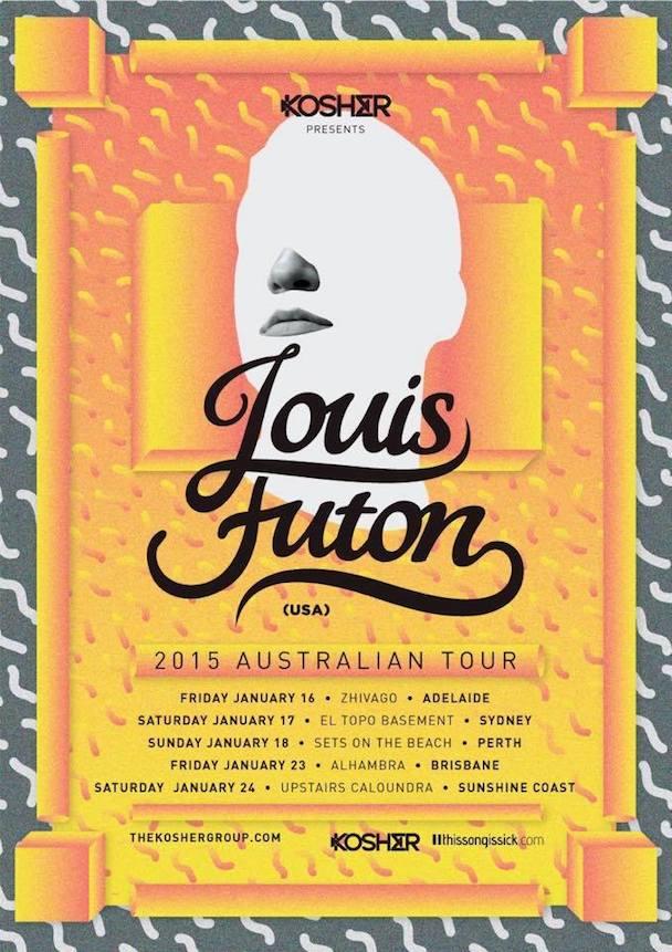 Louis Futon 2015 Australian Tour