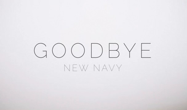 New Navy - Goodbye - acid stag