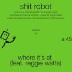 Shit Robot – Where It's At (ft. Reggie Watts) - acid stag