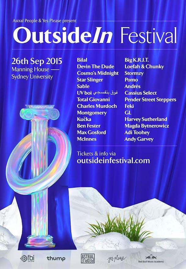 OutsideIn Festival 2015 - poster - acid stag