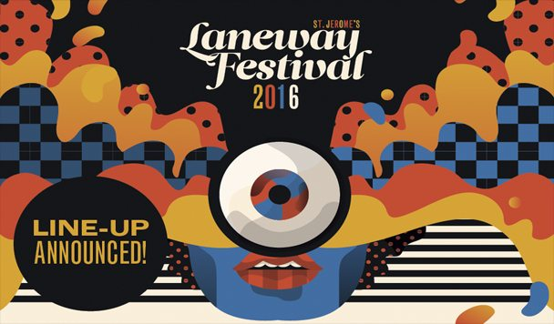Laneway Festival 2016 Lineup Announce - acid stag