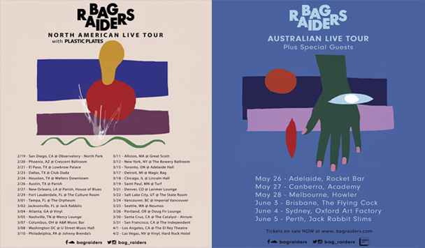 Bag Raiders - Tour - acid stag