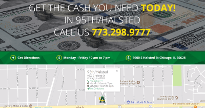95th and Halsted Chicago Illinois   AmeriCash Loans