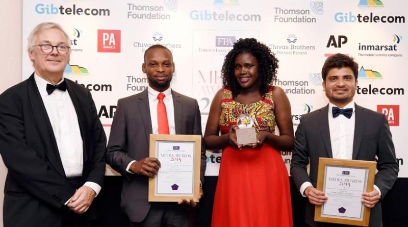 Caroline Ariba wins 2015 Thomson Foundation Young Journalist Award