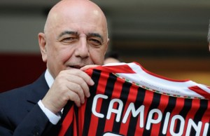 AC Milan's sporting director Adriano Gal