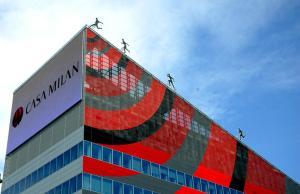 terminati i lavori della nuova sede del milan AC (casa milan) in