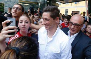 Italy Soccer AC Milan Torres-2