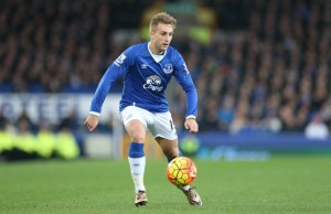 Gerard Deulofeu during the Barclays Premier League match between Everton and Stoke City played at Goodison Park, Liverpool, England, on December 28, 2015 - Photo Paul Greenwood / BPI / DPPI