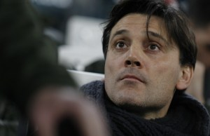 Vincenzo Montella during Tim Cup 2016/2017 match between Juventus v Milan, in Turin, on January 25, 2017 (Photo by Loris Roselli/NurPhoto).