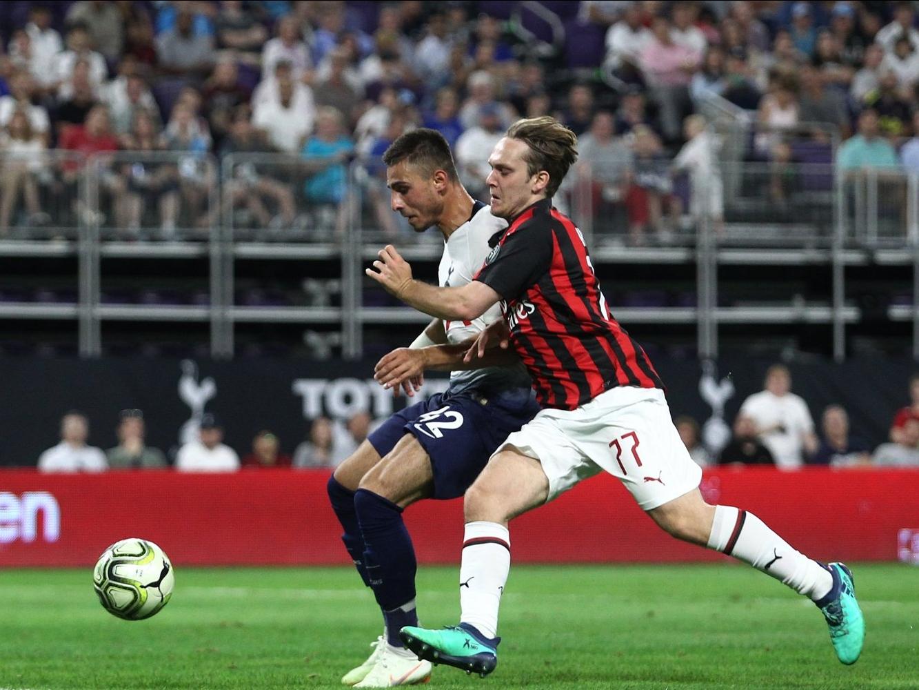 Maillot Domicile AC Milan FRANK TSADJOUT