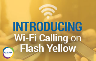Flash Yellow WiFi Calling