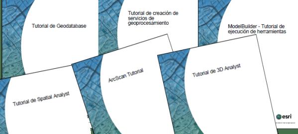 Tutoriales oficiales de ArcGIS 10 en español en formato PDF