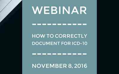Webinar: How to correctly document for ICD-10