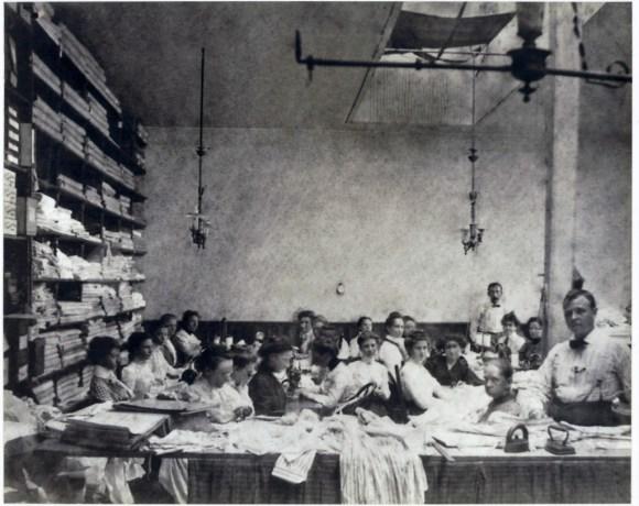 Hamilton Factory 1905