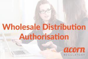 wholesale distribution authorisation
