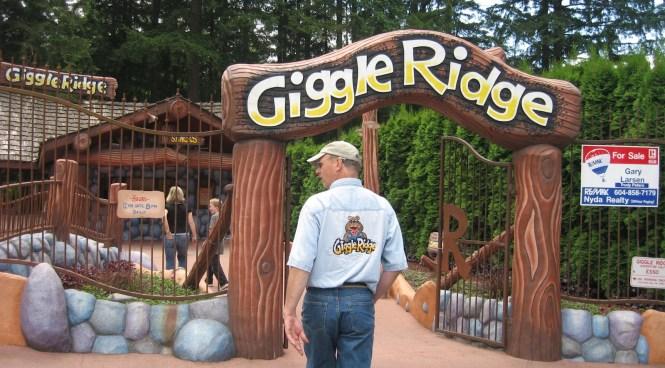 Giggle Ridge - Lake Cultus, B.C.