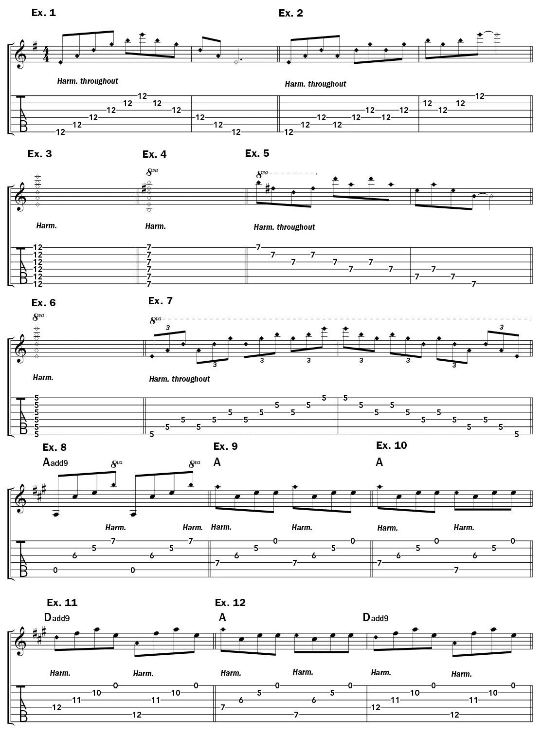 harmonics-lesson