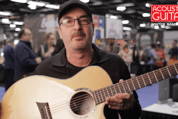 Michael Kelly 3D Auditorium Guitar Winter NAMM 2017